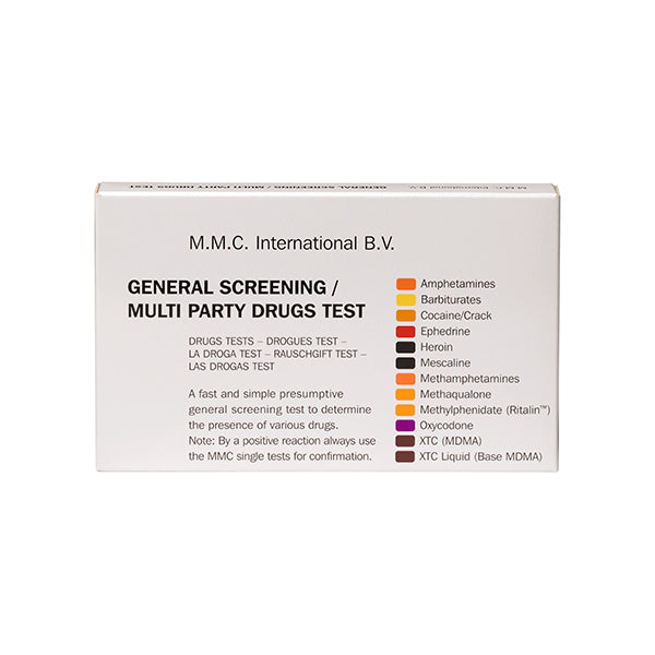 Tri-Tech Drug Test Kit, 10/Box