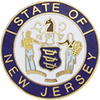 Smith & Warren New Jersey State Badge Seal NJM