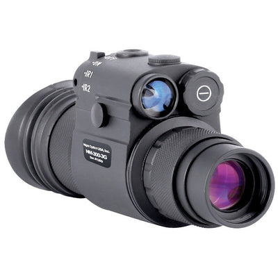Night Optics Ambia Series, Gen 3 B/W Gated, Multi-Purpose Night Vision Monocular, Filmless, 1X