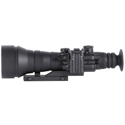 Night Optics Gladius 760, Gen 2+ B/W Manual Gain, Night Vision Riflescope, 6X
