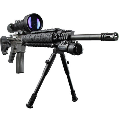 Night Optics Gladius 760, Gen 3 Gated Manual Gain, Night Vision Riflescope, Filmless, 6X