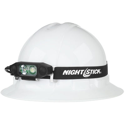 Nightstick Multi-Function Low-Profile Dual-Light Headlamp With Rear Safety Led, 450 Lumens