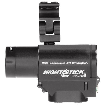 Nightstick Helmet-Mounted Multi-Function Led Dual-Light Flashlight