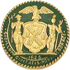 Smith & Warren New York Badge Seal - Green NYC1625GRE