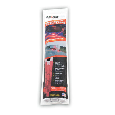 Orion Safety Products (3/Pk) 30 Minute Road Flares