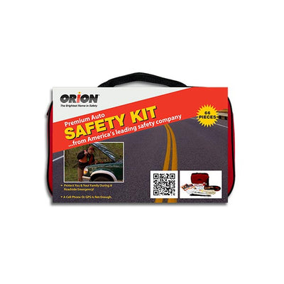 Orion Safety Products 66 Piece Premium Auto Safety Kit