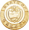 Smith & Warren Oregon State Badge Seal ORP