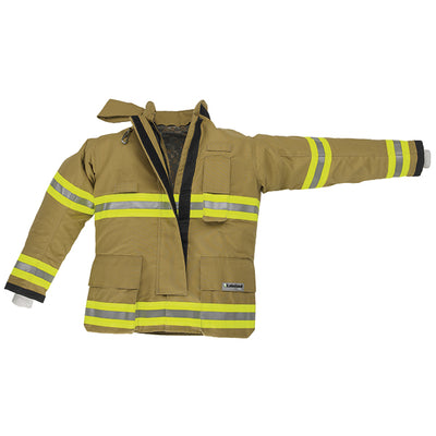 "Lakeland Industries Osx B2 Jacket, 32"" Gold Advance, Defender M Sl2 Liner"