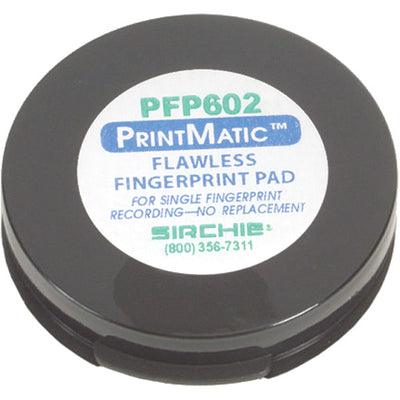 Sirchie Printmatic Stain-Less Ink Pad, 1-5/8 In.