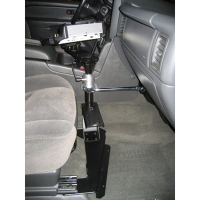 Havis Vehicle Mount Kit Package Mounting Base, Heavy Duty Mount With Short Handle