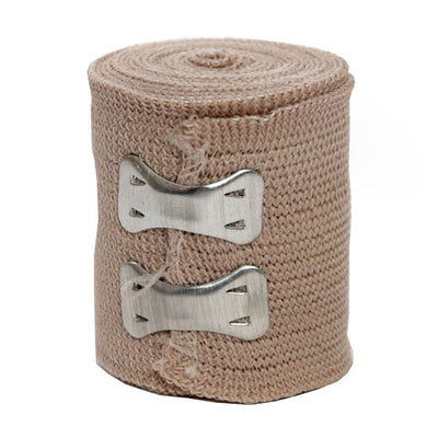 Certified Safety Manufacturing Elastic Bandage (Ace Style) W/ Clips, 5 Yards