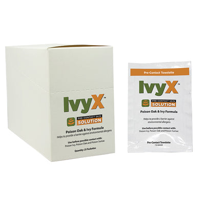 Certified Safety Manufacturing Ivyx Poison Ivy Treatment