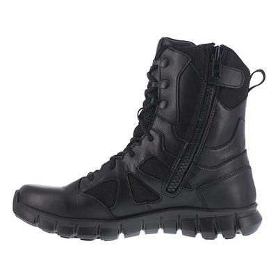 "Reebok Boots Women'S Sublite Cushion 8"" Sidezip Waterproof Tactical Boot"