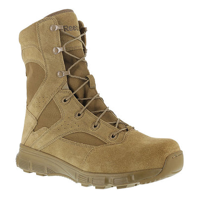 "Reebok Boots Dauntless 8"" Military Coyote Boot"