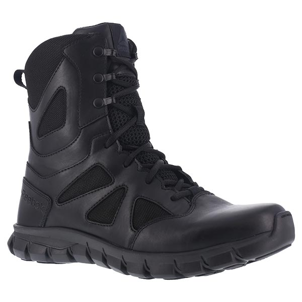 Reebok Boots Sublite Cushion Sidezip Tactical Boot, 8 Inch