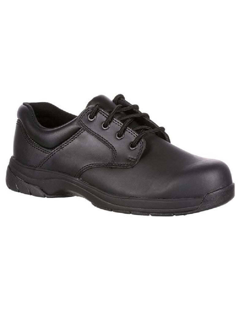 Rocky SlipStop Plain Toe Work Shoes