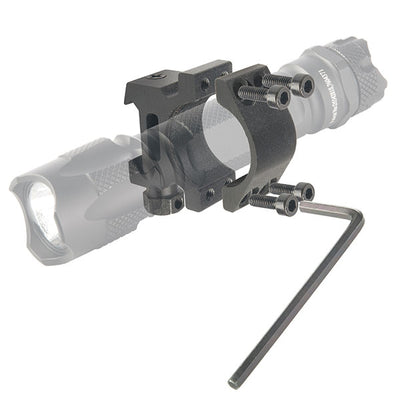 Brite-Strike Technologies Gun Mount For All Tactical Touch® Flashlights With Tactical Blue Dot® Switches