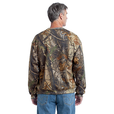 San Mar Realtree Ap Crewneck Sweatshirt