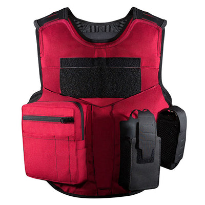 SafariLand V1 Firearms Instructor Carrier, Red (Specify Size)