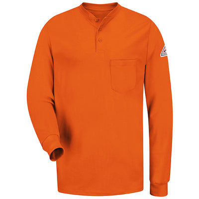 VF Imagewear Flame Resistant Tagless Henley Long-Sleeve Shirt