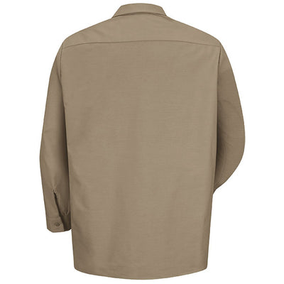 VF Imagewear Industrial Solid Work Long-Sleeve Shirt, Petrol & Postman Blue