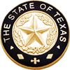 Smith & Warren Texas State Black Rim Badge Seal SPECIAL_TXBKE