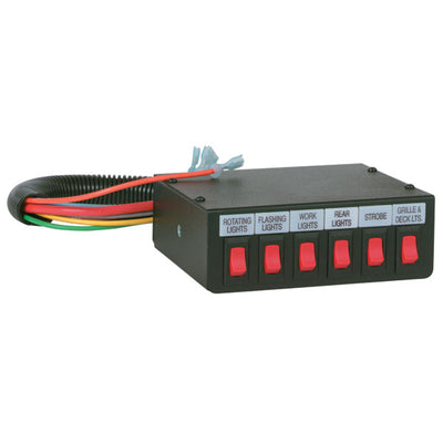 Federal Signal Control Switch Box