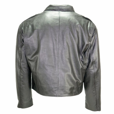 Taylors Leatherwear Milwaukee Leather Jacket W/ Zip-Out Liner, Black