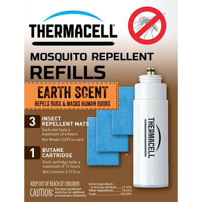 Thermacell Mosquito Repellent, Refill With Earth Scent