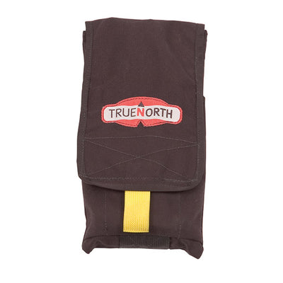 True North Hose Clamp Adjustable Pouch, Black