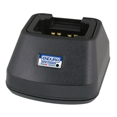 Power Products Endura In-Vehicle Rapid Charger For Two-Way Radio Batteries, Kenwood, and Motorola