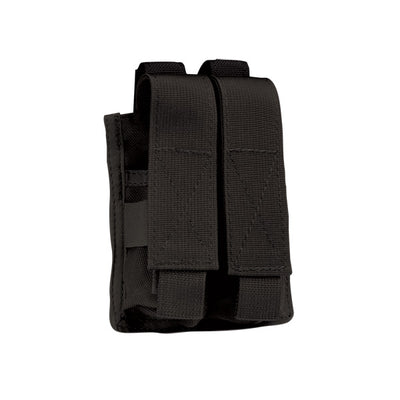 Uncle Mike's Double Pistol Mag Pouch, Molle