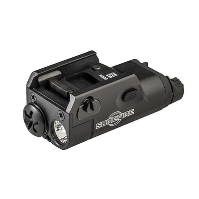Surefire XC1 Ultra-Compact Pistol Light, W/ Universal And Picatinny Rail Mount, (1)AAA, 200 Lu, Black