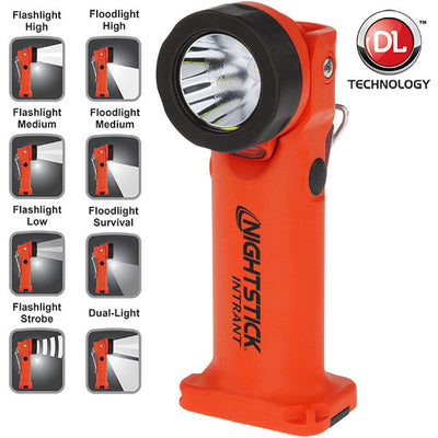 Nightstick INTRANT Intrinsically Safe Dual-Light Angle Light - 3 AA