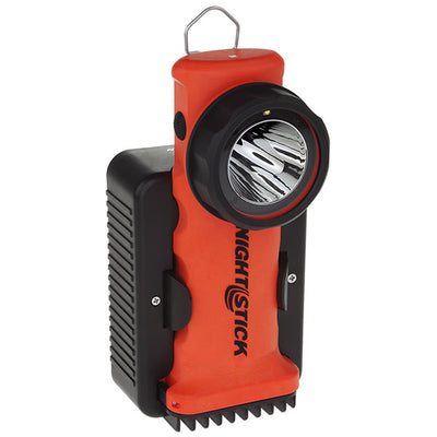 Nightstick Intrinsically Safe Dual-Light Angle Light W/Magnetic Base, Rechargeable