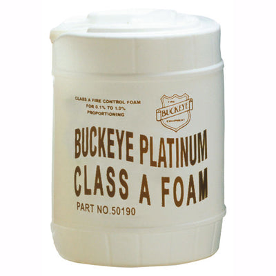 Buckeye Fire Equipment Firefighting Foam, Class A Synthetic, 5-Gallon Pail