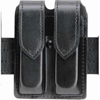 "SafariLand Double Handgun Magazine Pouches For 2-1/4"" Duty Belts, Black"