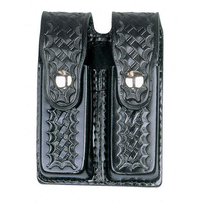 Dutyman Leather Double Magazine Holder
