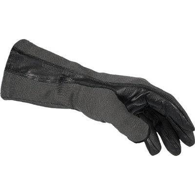 Damascus Worldwide, Inc. Dnxf190 Flight Gloves W/ Nomex And Leather Palms, Black