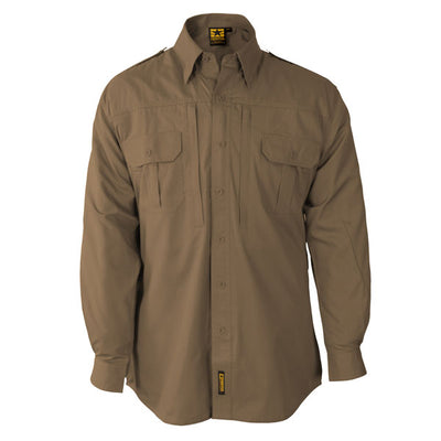 Propper Lightweight Long Sleeve Tactical Shirt, Black & Coyote