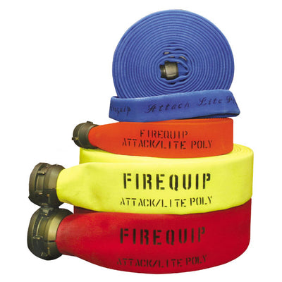 Firequip Attack Lite Small-Diameter Polyester Fire Hose