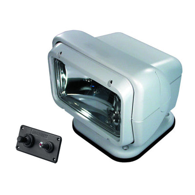 Go Light ® Halogen Searchlight W/ Hardwired Remote, Permanent Mount