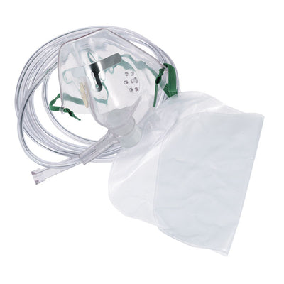 Medline Industries Non-Rebreathing Mask With Safety Vent, Latex-Free