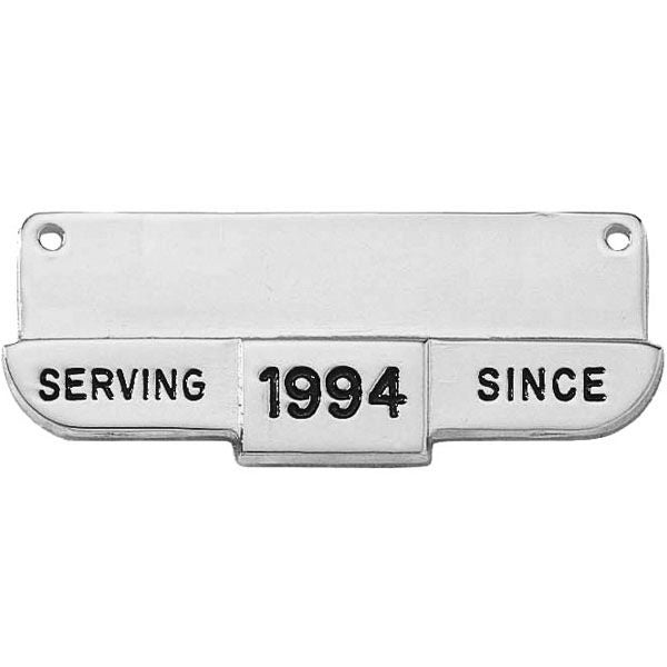 "V H Blackinton J6 ""Serving Since"" Name Plate Holder, 1-7/8"" x 3/4"""