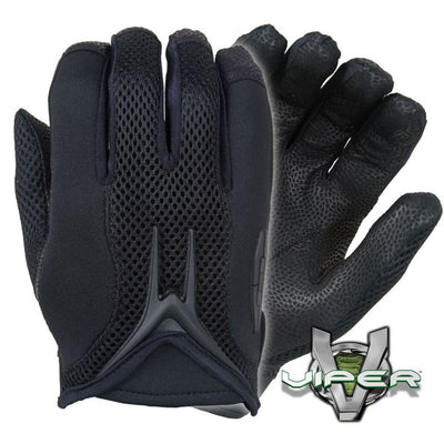 Damascus Worldwide Mx50 Viper Duty Gloves W/ Digital Print Leather Palms, Black