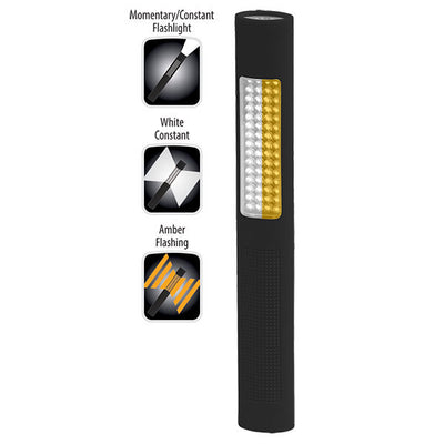 Nightstick, 1174 Safety Light / Flashlight, White And Amber Led