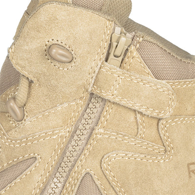 "Reebok Boots Rapid Response 6"" Side Zip Boot, Desert Tan"
