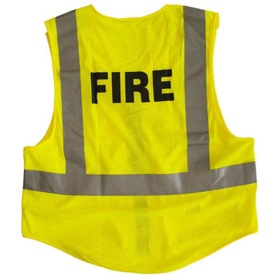 Reflective Apparel Public Safety 5-Point Breakaway Ansi 207 Vests, Lime Yellow