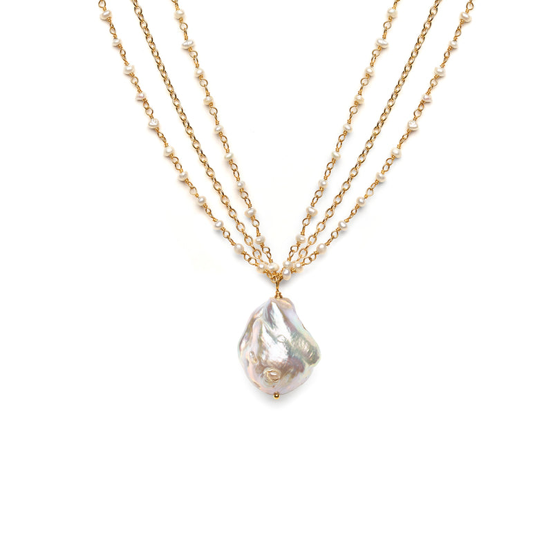 PEARLfection necklace
