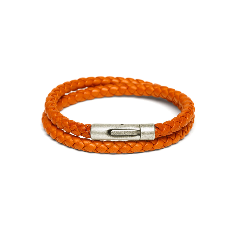 Magnetic Unisex  Woven Leather Bracelets